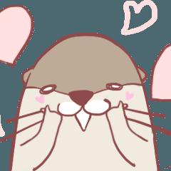 OtterHANHAN&fishcake