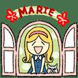 レトロガール・marieちゃん