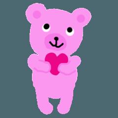 Pink Bear Rosa