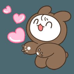Rabbit bear BEBI