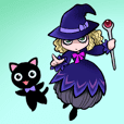 "Little witch of black ""MILLIE"""