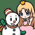 Snow - World Sticker