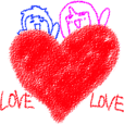 Crayon girl and Boy