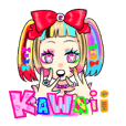 Japanese Kawaii culture sticker