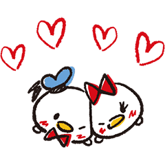 Disney Tsum Tsum Sketch Style Line Stickers Line Store