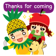 (HELP!ONLINE SHOP)Pine+Apple&Mango2(ENG)