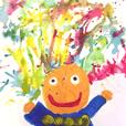 藝寶小小孩的創作塗鴉