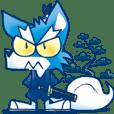 Samurai Wolf Robot