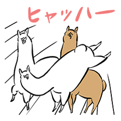 Alpacas Sticker vol.3
