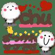 FuWaMoKo Sticker 4