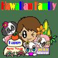 Hawaiian Family Vol.3   New Year message