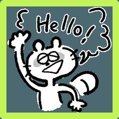 hello from raccoon
