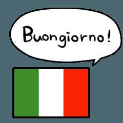 talking Italy