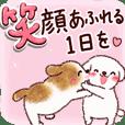 わくわく♡春のわんこたち【敬語】