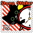 Stamp Sticker(CAT)