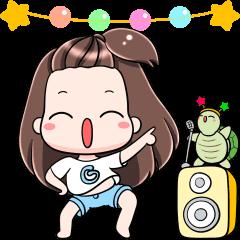 สติ๊กเกอร์ไลน์ Gyoza: Animated Stickers