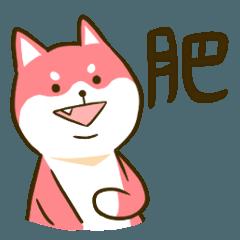 1/7 pink Shiba Inu - ver. food