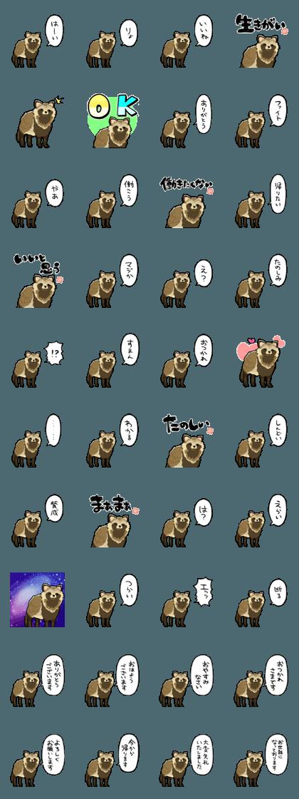 talking raccoon dogs