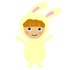 Rabbit costume Mimi