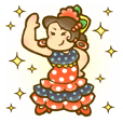 Sticker de Flamenco