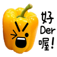Sweet pepper talk sticker