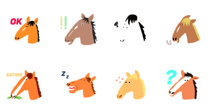 Face Of Horses