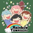 Rainbow Town!