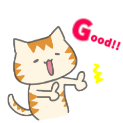 Kanaria5 cat greeting word