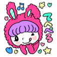 Kawaii*girls Sticker3