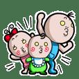 チューチュー妖精のチュ太郎とその家族