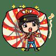 KenjiNanda's funny Hokkaido sticker.