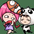 Baby Panda & Baby Fish's daily life