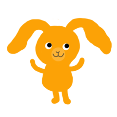 Lop rabbit Mikan