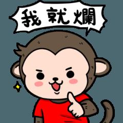 A lovely monkey-Ricky