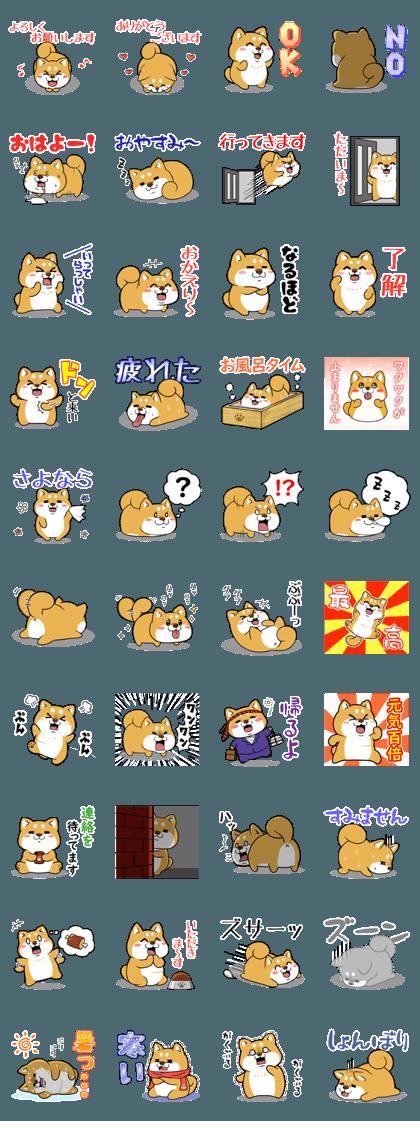 Fat Dog basic sticker