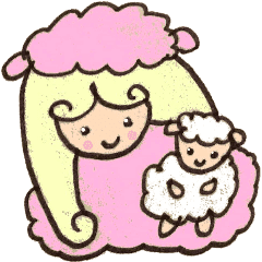 Pink Girl and The Sheep