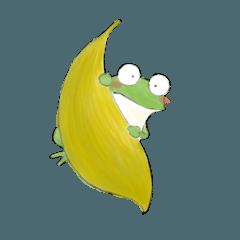 Frog in a fog