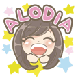 Alodia Official Stamp