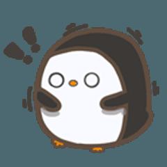 cute penguin chart block