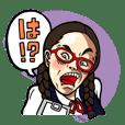 月刊 関口満紀枝 キャラクタースタンプ
