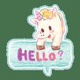 Unicorn Mani bff hang around!