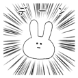 Feeling of the white rabbit