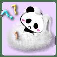 ふわふわパンダ2