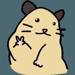 golden hamster emoji