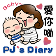 PJ's Diary- Mom is coming