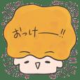 kawaii character sticker