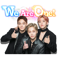 EXO-CBX Song Stickers