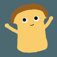 Plain bread kinusan