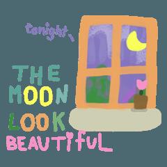 The moon look Beautiful
