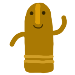 Japanese Clay figure Haniwa